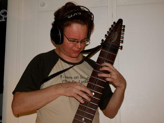 Alexander in the studio