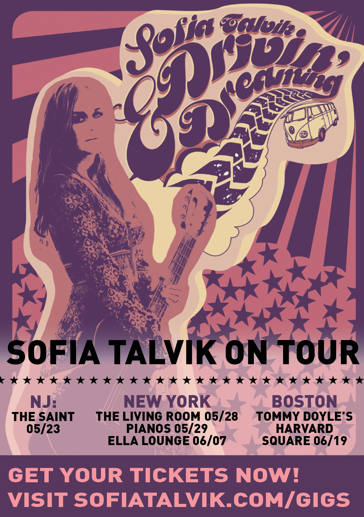 Upcoming shows – get tickets NOW!