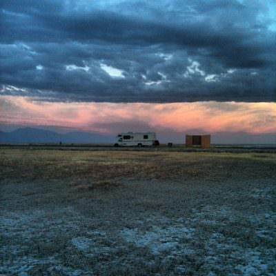 The Drivin' & Dreaming mobile in Utah