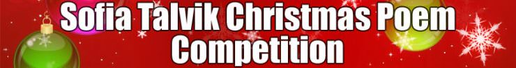 Sofia Talvik Christmas Poem Competition
