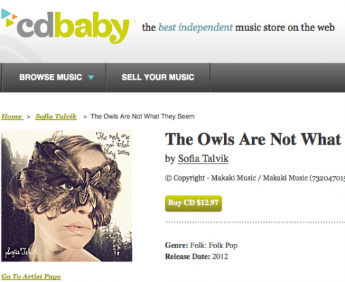 5 stars from CDbaby