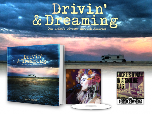 Drivin' & Dreaming - THE BOOK & CD