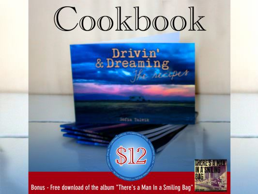Drivin' & Dreaming - the recipes