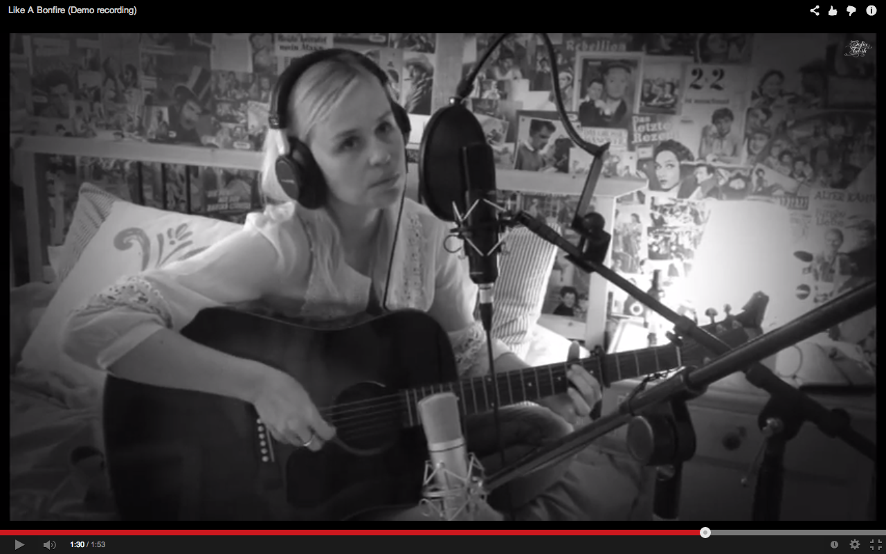 Sofia Talvik - Like a Bonfire demo