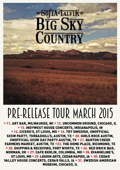 Big Sky Tour Flyer 2015